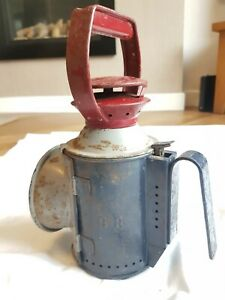Antique Vintage British Rail 4 Aspect Signalman Railway Lamp Lantern - 4 Colour