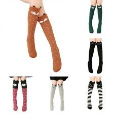 3D Girl Kid Cute Cartoon Animal Tights Thigh Stockings Over Knee High Long w/