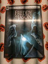 Freddy Vs Jason (Dvd, 2004, Platinum Series) fresh! Pics!