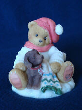 Cherished Teddies - Lee - Boy With Puppy 1997 - Dated Figurine - 272167