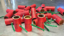 pyro tubes 25 stamped with M80 9/16 x 1-1/2 with plugs and fuse . no powder