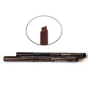 Technic Brow Sculpt, Retractable Twist Up Eyebrow Eye Brow Pencil - Black