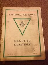 The Royal Air Force Manston Quarterly June 1939 Vintage RAF Journal Magazine
