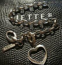 Jette joop Charm Armband & Jette Herz Charm