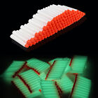Glow 200pcs 7.2cm Refill Bullet Darts for Nerf N-strike Elite Series toy Gun