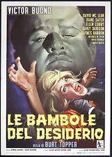 CINEMA-manifesto LE BAMBOLE DEL DESIDERIO buono, mclean, sayer, TOPPER