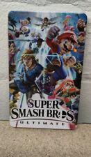 Super Smash Bros Steelbook - NEW - Custom - NO GAME - Switch - G4