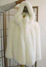 BRAND NEW WHITE FOX FUR JACKET MEN WOMEN ALL