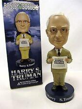 "President Harry S. Truman  from Bosley Bobbers 8"" tall  resin"