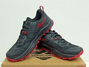 saucony Peregrine 10 Women's TRAIL Running Shoes Size 8 USED