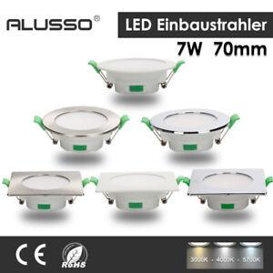 LED Einbaustrahler Panel Leuchte Einbauspot Dimmbar Spot Ultraslim Deckenleuchte