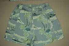 Tommy Bahama Bungalow Brand Swimsuit Men's Size Medium Gray Trunks Mesh Lined