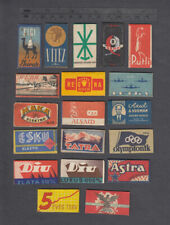 19 Old Razor Blades & Wrappers