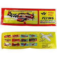 Avión Planeador Polietileno Flying Gliders Thunderbolt F-47D Power Prop a1336