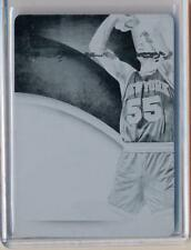 Kiki VanDeWeghe 2013-14 Immaculate Team Logos Black Printing Plate 1/1 Knicks