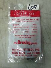 Crosby-Laughlin Latch Kit Stainless Steel 11-15 Ton #SS4055A (NIB)