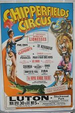 More details for chipperfields circus poster