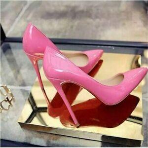 Women Pumps Shoes High Heels Shoes Leather Stiletto Shoes Woman Wedding Shoes