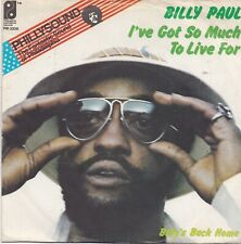 Billy Paul-Ive Got So Much To Live For vinyl single