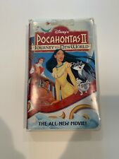 Disney's Pocahontas II: Journey To A New World (VHS 12743 , 1998)