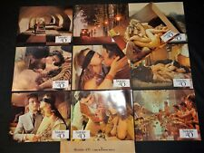 HISTOIRE D'O Just Jaeckin corinne clery jeu 20 photos lobby card sexy 1975