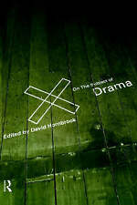 On the Subject of Drama, Good Condition Book, , ISBN 9780415168830