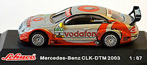 Mercedes Benz CLK DTM 2003 Vodafone Amg-Mercedes B.Schneider #3 1:87 Schuco