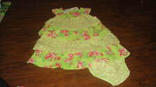 NWT NEW BENETTON BABY 62 3-6 FLORAL DRESS SET