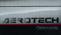 Oldsmobile Aerotech Race Car Concept Original Brochure
