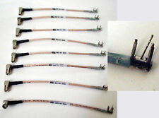 """8 FLEXIBLE 5"""" MICROWAVE CABLES SMB (F) TO PCB RGS-316"""