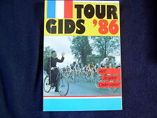 """""""TOURGIDS '86""""~ MET JACQUES ONDERWATER~TOUR DE FRANCE~CYCLING"""
