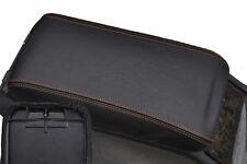 S' adapte à mercedes classe E W210 accoudoir couverture surpiqûres orange