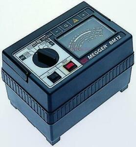 Megger BM12, Insulation Tester 1000V dc 999mΩ CAT III 300V