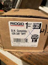 Ridgid 3/8 Pipe Threading Die Head Pipe Threader Rigid Brand New