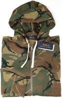 NEW $148 Polo Ralph Lauren Mens Hoodie Long Sleeve Camo Hooded Sweatshirt NWT