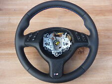 LEATHER STEERING WHEEL BMW X5 E39 M Steering Wheel with Slot Multi Function