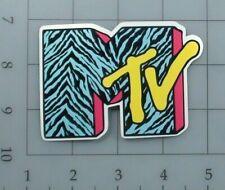 MTV sticker logo 80s 90s retro skate cell laptop bumper vinyl decal weatherproof