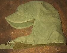 Funk Bros 1943 Military Green Hat With Ear Flaps Size 7