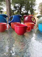 JUMBO mug CUP scarlet red NEW FIESTA 18 0Z.