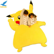 Giant Stuffed Double Pikachu Sofa Bed Tatami Mattress with Padding 220cm X 150cm