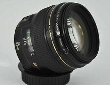 Canon EF 85mm f/1.8 USM Lens full frame BOXED UK Seller