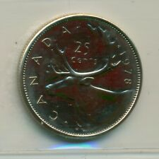 ICCS Canada 1978 25 cents MS-64 Small Denticles KH 147