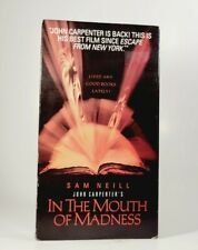 In the Mouth Of Madness (VHS, 1995) VGC Tested! Sam Neill, John Carpenter