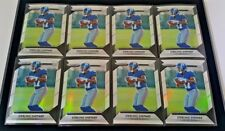 LOT OF (8) 2016 PANINI PRIZM STERLING SHEPARD RC PRIZM REFRACTOR #300 GIANTS