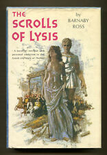 THE SCROLLS OF LYSIS by Barnaby Ross - 1962 1st Edition in DJ