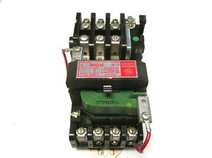 GE Contactor/Starter Size 0, 18A, 120V Coil, 5Hp Cat# CR206B0 .. TJ-30