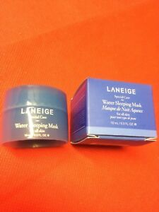 LANEIGE SPECIAL CARE WATER SLEEPING GEL MASK .3 oz NIB SLEEP SCENT MOISTURIZER
