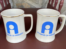 New listing Vintage Art Institute Of Pittsburgh Drinking Mugs (2)