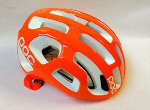 POC Octal Zink Orange Avip MTB Helm Bike Helm Gr. M Race Rennrad Helm