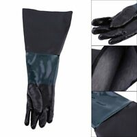 60cm Sandblasting Gloves For Sandblaster Anti-slip Labour Protection se